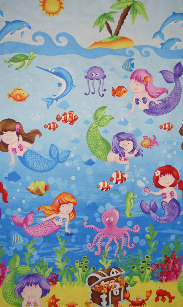 Little Mermaid Fabrics