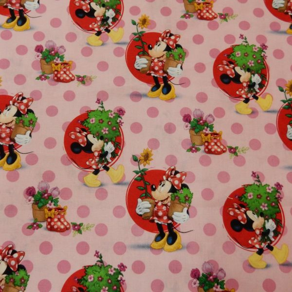 Minnie Mouse Smell the Flowers