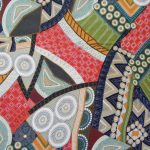 Country Fabrics N Things - Australiana Bindoon -Gorgeous unique indigenous patterned fabric.