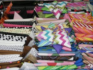 Country Fabrics N Things - Spots N Stripes Fat 14s