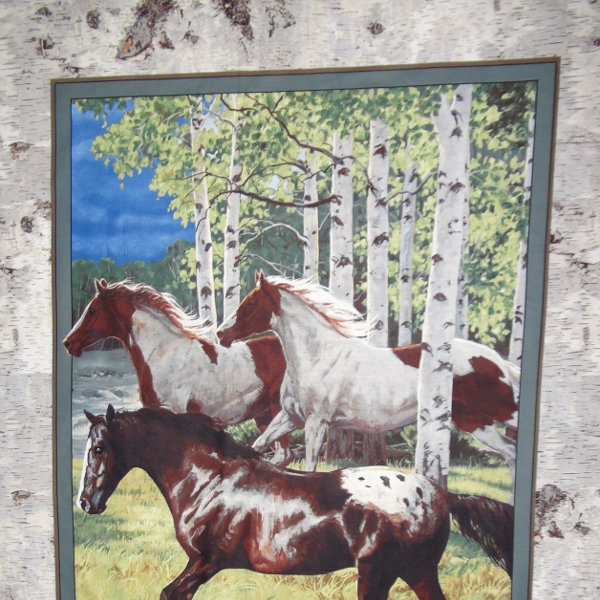 Horse Panel - Wild Wings - CP67476