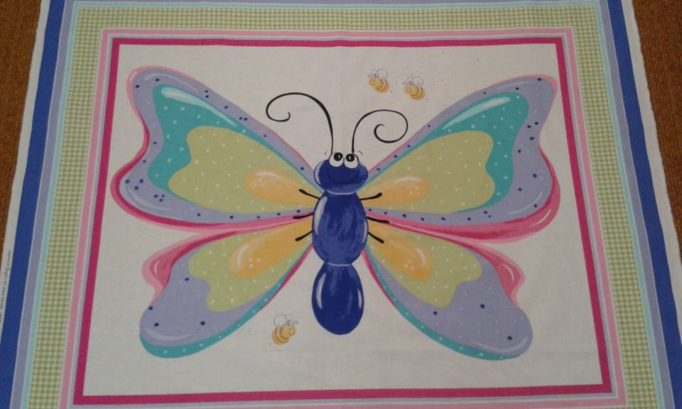 Susybee range - Beautiful Butterfly - 90cmx110cm