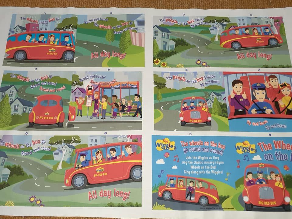 The Wiggles - Book Panel